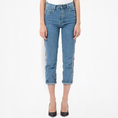 MKY Clothing Big Ribbon Line Boyfriend Celana Jeans .