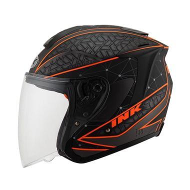 2e0469d1 Jual INK Metro 2 Solid Helm Half Face - Gun Metal Terbaru - Harga ...