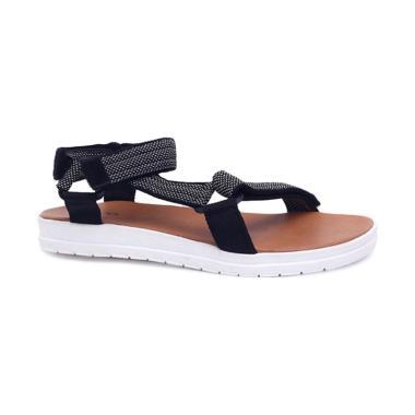 Garucci GJS 8151 Sandal Wanita - Hitam