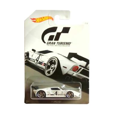 Hotwheels Gran Turismo Ford Gtcast