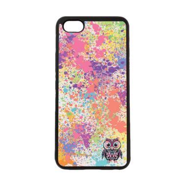 harga HEAVENCASE Motif Burung Owl Cute Paint Softcase Casing for ViVO Y81 - Hitam Blibli.com
