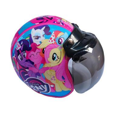 JBX Helmet Motif Little Pony Helm Anak with Kaca Bog.