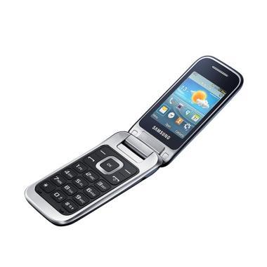 harga Samsung gt c-3520 Flip Handphone - Silver Blibli.com