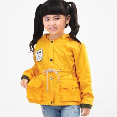 Syaqinah 304 Jaket Anak Perempuan - Kuning 135f48875a