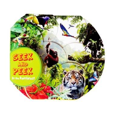 harga Kingfisher Books Seek And Peek In the Rainforest Buku Anak Blibli.com