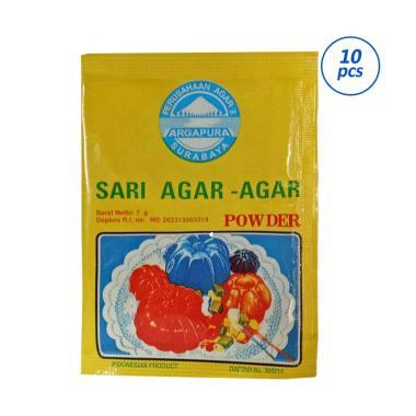 harga Argapura Sari Agar Agar Bubuk [7 g/ 10 pcs] Blibli.com