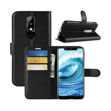 OEM Wallet Flip Leather Casing for Nokia 5.1 Plus