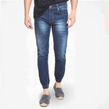 2Nd RED Pola Slim Fit Jeans Celana Jogger Pria ...