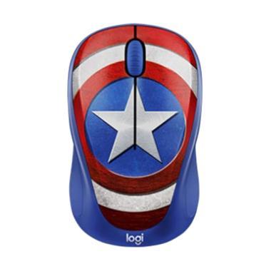 harga Logitech M238 Marvel Collection Wireless Mouse - Captain America Blibli.com