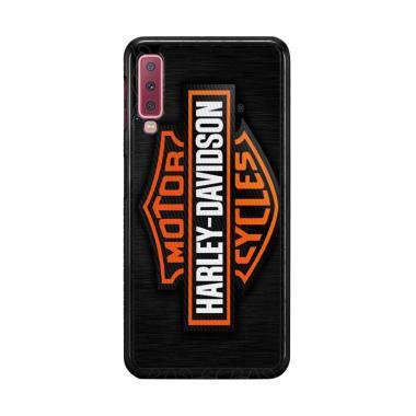 harga Flazzstore Motor Harley Davidson Logo X4357 Premium Casing for Samsung Galaxy A7 2018 Blibli.com