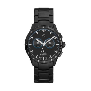 harga Mercedes-Benz Chronograph Edition Jam Tangan Pria - Black [Original] Blibli.com