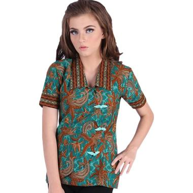 Rianty Blouse Margaret Baju Batik Atasan Wanita ... 2e465f41ff