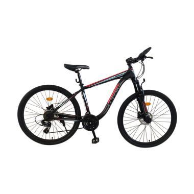 harga ALTON Battle 2.0 Sepeda MTB - Hitam Merah [27.5 Inch/ 24 Speed Hydrolic] Blibli.com