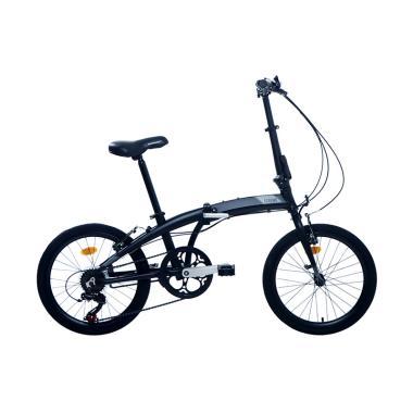 harga Element Folding E Cosmo Alloy Sepeda Lipat - Hitam Grey [7 Speed/ 20 Inchi] Blibli.com