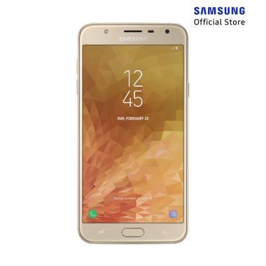Samsung Galaxy J7 Duo Smartphone - Gold [32GB/ 3GB] + XL Packet 12GB