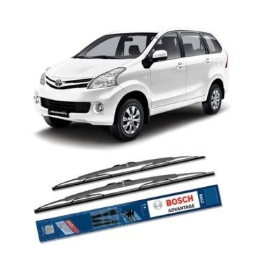 harga Bosch Advantage Set Wiper Kaca Mobil for New Toyota Avanza [21 & 14 Inch] Blibli.com