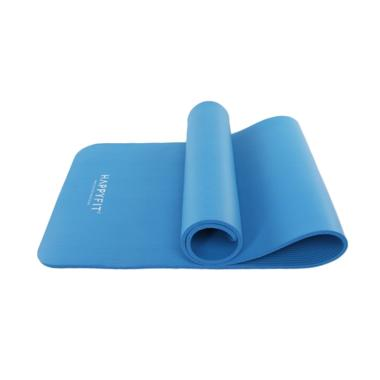 HAPPYFIT NBR Exercise Matras Gym with Strap [10 mm ]