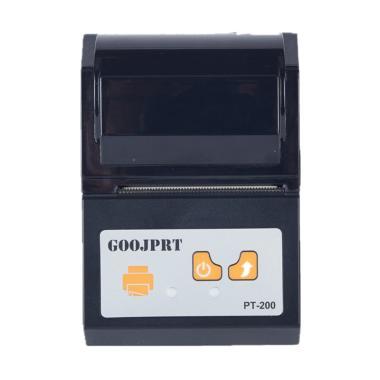 harga GOOJPRT JP-PT200 POS Bluetooth Thermal Receipt Printer - Black [58 mm] Blibli.com