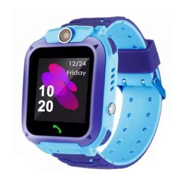 harga IMO IP67 / Q12 Anti Air Smartwatch Jam Tangan Anak [SOS/ GPRS/ Camera]  Biru Blibli.com