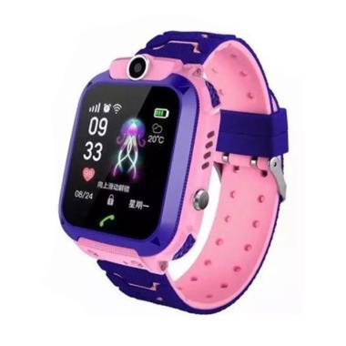 harga IMO IP67 / Q12 Anti Air Smartwatch Jam Tangan Anak [SOS/ GPRS/ Camera] Pink Bunny Blibli.com