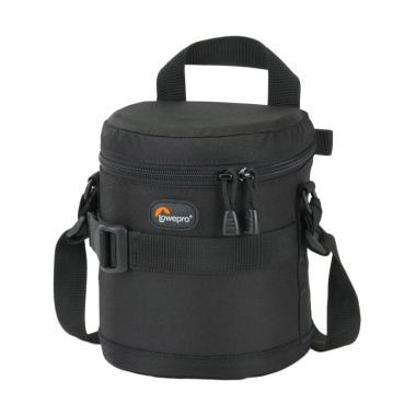 harga Lowepro Lens Case Tas Kamera - Black [11 x 14 cm] black Blibli.com
