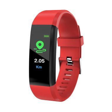Bluelans Blood Pressure Oxygen Heart Rate Fitness Smart Watch Sports Wrist Band Bracelet