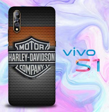 harga Casing Vivo S1 Custom Hardcase motor harley davidson logo Z4053 Blibli.com
