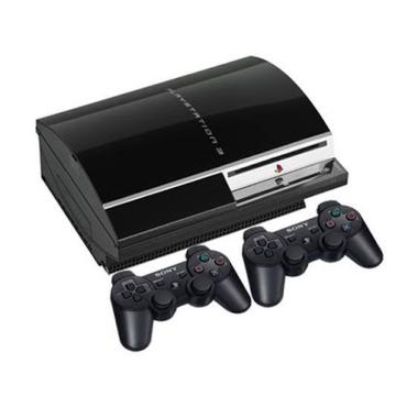 harga SONY Playstation 3 Fat CFW 4.84 Game Console [HDD 500GB] Free + 2 Stik Wireless + Full Game Blibli.com