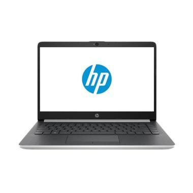 harga HP 14s-cf1046TU Notebook - Silver [Intel Celeron N4205U/4GB/1TB/UMA/14inch/Win10] Blibli.com