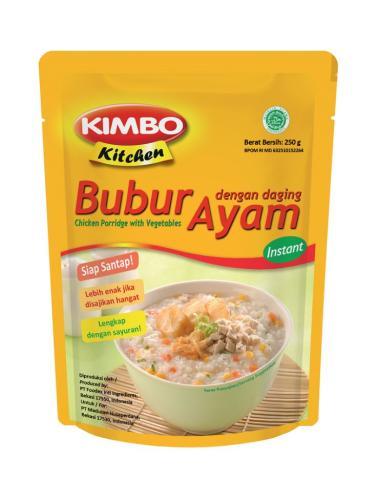 harga Kimbo Kitchen Bubur Ayam [250 gr] Blibli.com