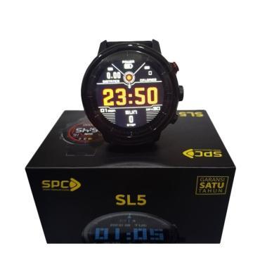 harga SPC Mobile SL5 Heart Rate Monitor IP68 Waterproof Smartwatch Blibli.com