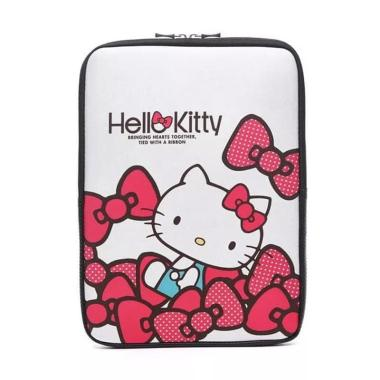 harga Bag Zone Sleeve Softcase Hello Kitty Neoprene Tas Laptop 14 inch Blibli.com