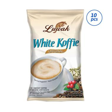 Luwak White Cofee Kopi [20 g/ 1 Renteng/ 10 Sachet]