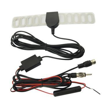 harga Bluelans 2-in-1 Car Digital TV Tuner Radio FM Antenna Aerial Signal Amplifier Booster Blibli.com