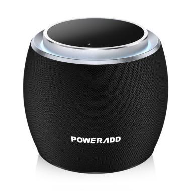 harga POWERADD Dee-G Compact Portable Audio Mini Wireless Bluetooth Speaker hitam Blibli.com