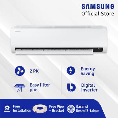harga Samsung AR18TYGZEWKNSE Wall Mount Inverter AC Split [2 PK] + Free Pipe + Bracket Blibli.com