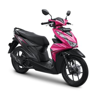harga Honda New BeAT Sporty CBS ISS Sepeda Motor [VIN 2020- OTR Sumatera] Blibli.com