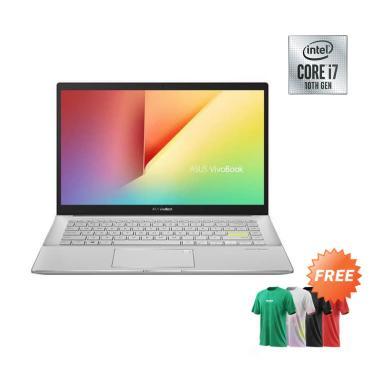 harga ASUS S433FL-EB702T VivoBook S - Green Metal [i7-10510U/ MX250/ 8GB/ 512 GB + 32 GB PCIe/14 Inch HD/ Win 10] + Free T-Shirt Blibli.com