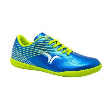 harga Calci Scape JR Sepatu Futsal Anak 34 biru Blibli.com