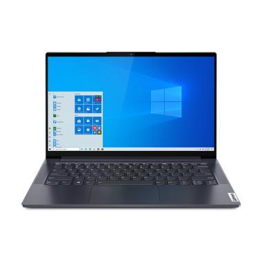 harga Lenovo Yoga Slim 7 14IIL05 - 5RID Laptop [Intel Core i5-1035G1 / 8GB Onboard / 512GB PCIe / MX350 2GB / 14 Inch FHD / WIN 10 HM + OHS 2019] Slate Grey Blibli.com