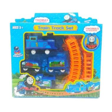 harga Babyboo Toys Thomas Set Rel Train Track Set Model Kit Blibli.com