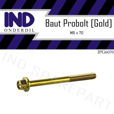 harga IND Onderdil Baut Probolt Pro Bolt[ M6x70/6x70/6x70/ Kunci 8/ Drat 10] Blibli.com