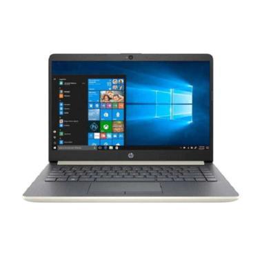 harga HP 14s-cf0080TX/cf0081TX Laptop [Core i3 8130/4GB/1TB/R520 /2GB/W10+OHS/14.0 Backlit] GOLD Blibli.com