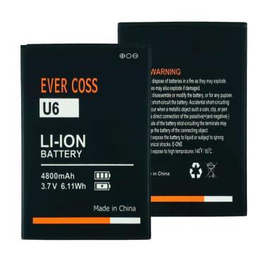 harga Evercoss Baterai Handphone for Evercoss Xtream 1 Plus U6 [4800 mAh] Blibli.com