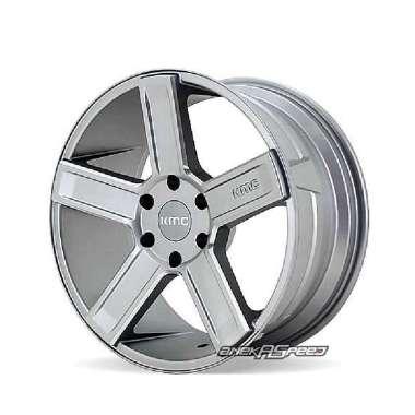 harga KMC MD5 (KM702) R20x8.5 ET15 - PCD 6x139.7 Satin Grey Milled | Velg Mobil ORI Blibli.com