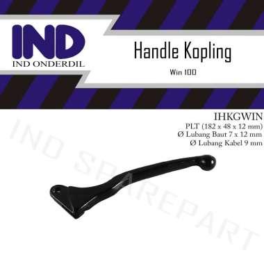 harga IND Onderdil Handle Tuas Lever Kopling Tangan Kiri Motor for Honda Win 100 HItam Blibli.com