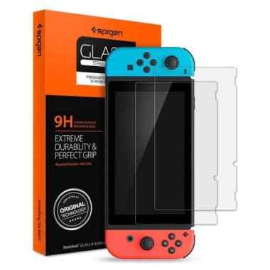 Tempered Glass Nintendo Switch Spigen tR SLIM Screen Protector