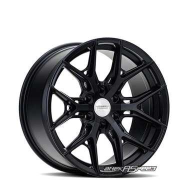 harga Vossen HF6-4 R20x9.5 ET+15 - PCD 6x139.7 Satin Black | Velg Mobil ORI