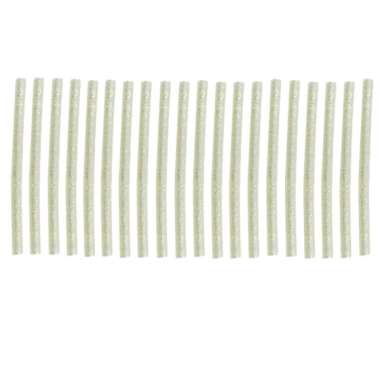 harga 20 Pieces 100x7 mm Heating Glue Adhesive Sticks Glitter Hot Melt Repair Tool White Blibli.com