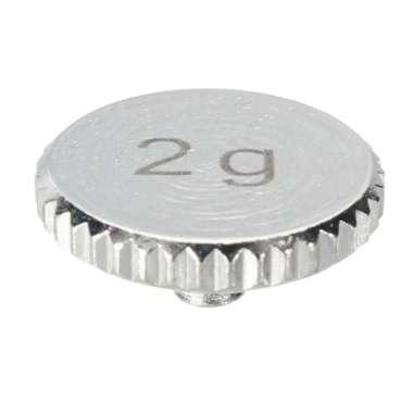 harga 2g/4g Golden/Silver Shell Weight Headshell Turntable Cartridge Parts Silver 2 Blibli.com
